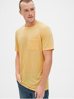 Gap: Extra 40% Off + 10% Off: Men's Ringer Tee $5.40, Pocket Tee
