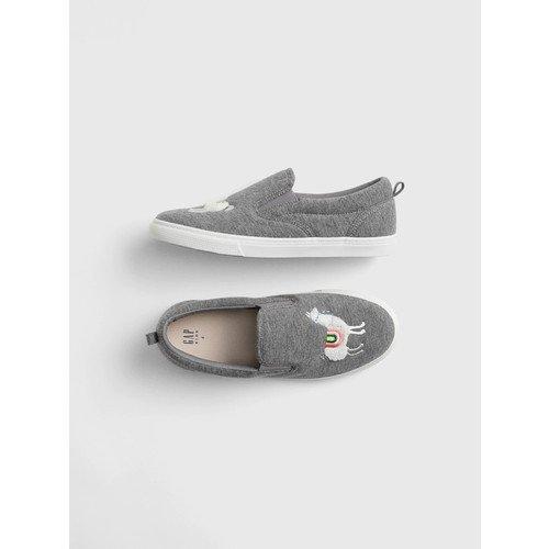 GapKids Llama Slip-On Sneakers