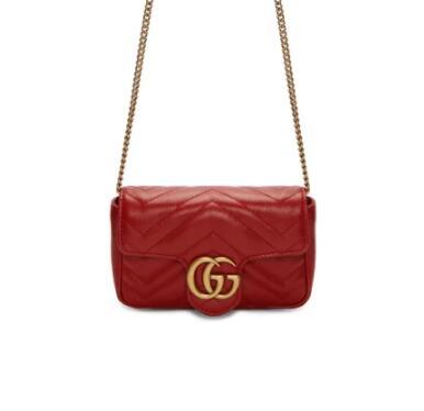 Gucci Red Super 链条包