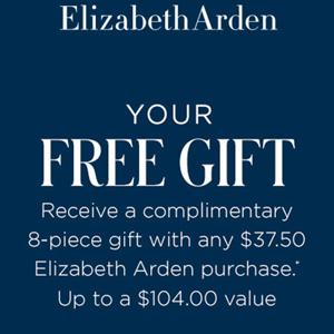 Dillards现购Elizabeth Arden系列满$37.5送八件套(价值$104)