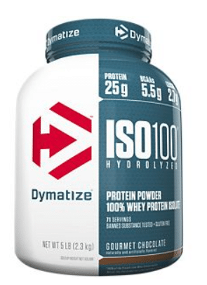 5lb Dymatize Nutrition ISO100 Hydrolyzed 100% Whey Protein Isolate