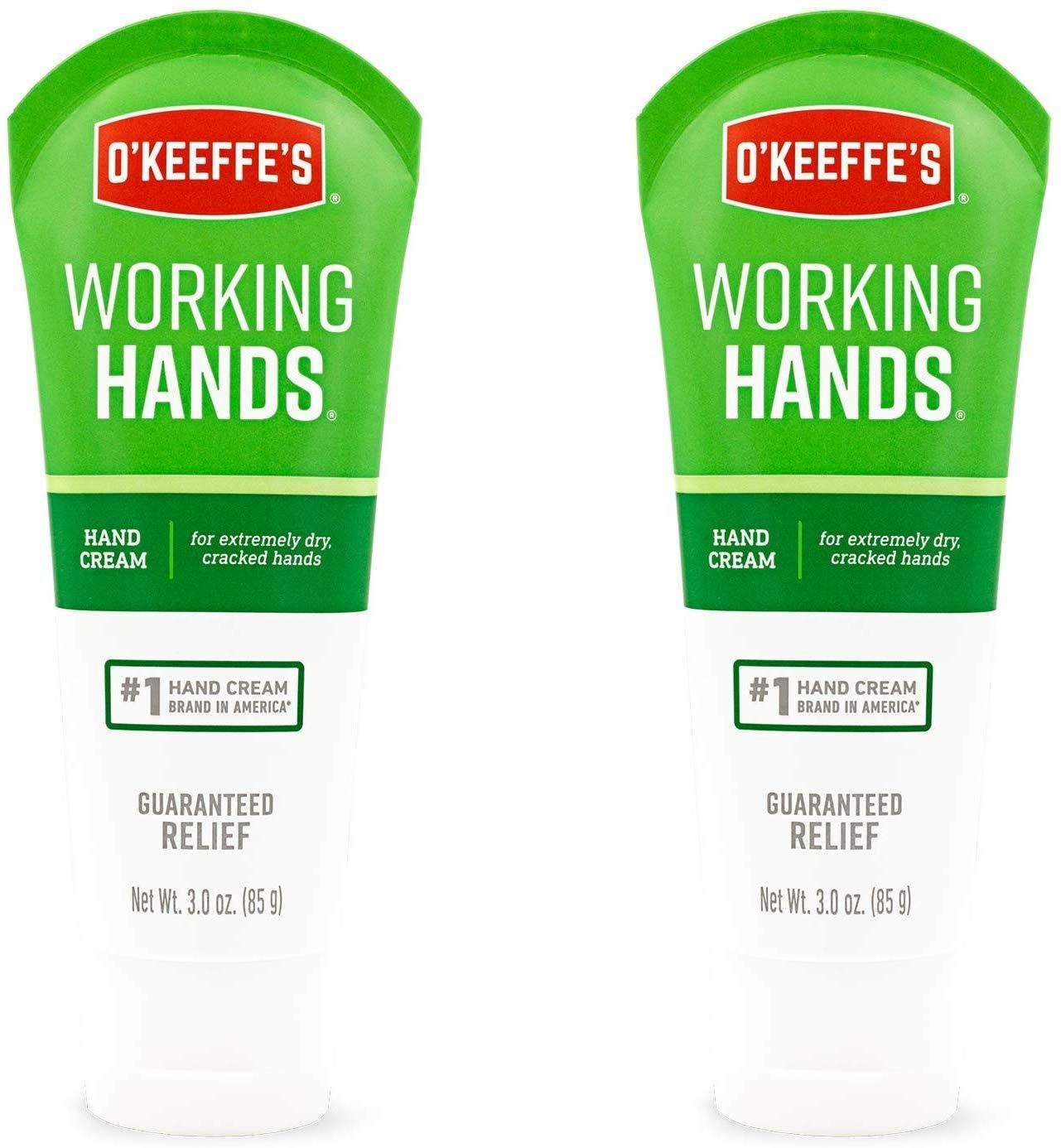O'Keeffe's Lip Balm & Body Cream:  2-Pk 3oz. Working Hands Hand Cream