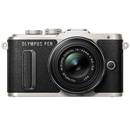 Olympus PEN E-PL8 16MP Mirrorless Camera + 14-42mm f/3.5-5.6 II R Lens