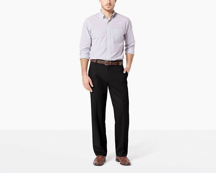 Dockers 40% Off Sitewide: Men's Relaxed Fit Easy Stretch Khaki Pants