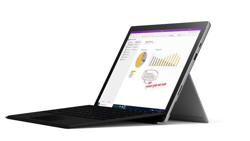 """Microsoft 12.3"""" Surface Pro 7 + Pro Type Cover: i3-1005G1, 4GB DDR4, 128GB SSD"""