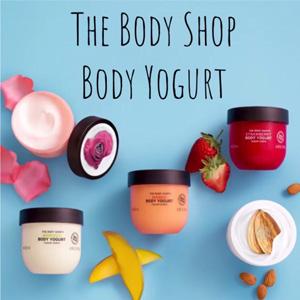 The Body Shop官网现有多款酸奶身体乳200g一律$11.25/$12