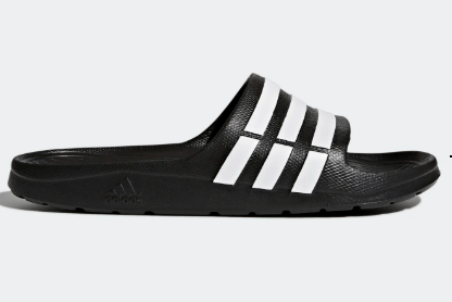 adidas Duramo Men's Slides (black)
