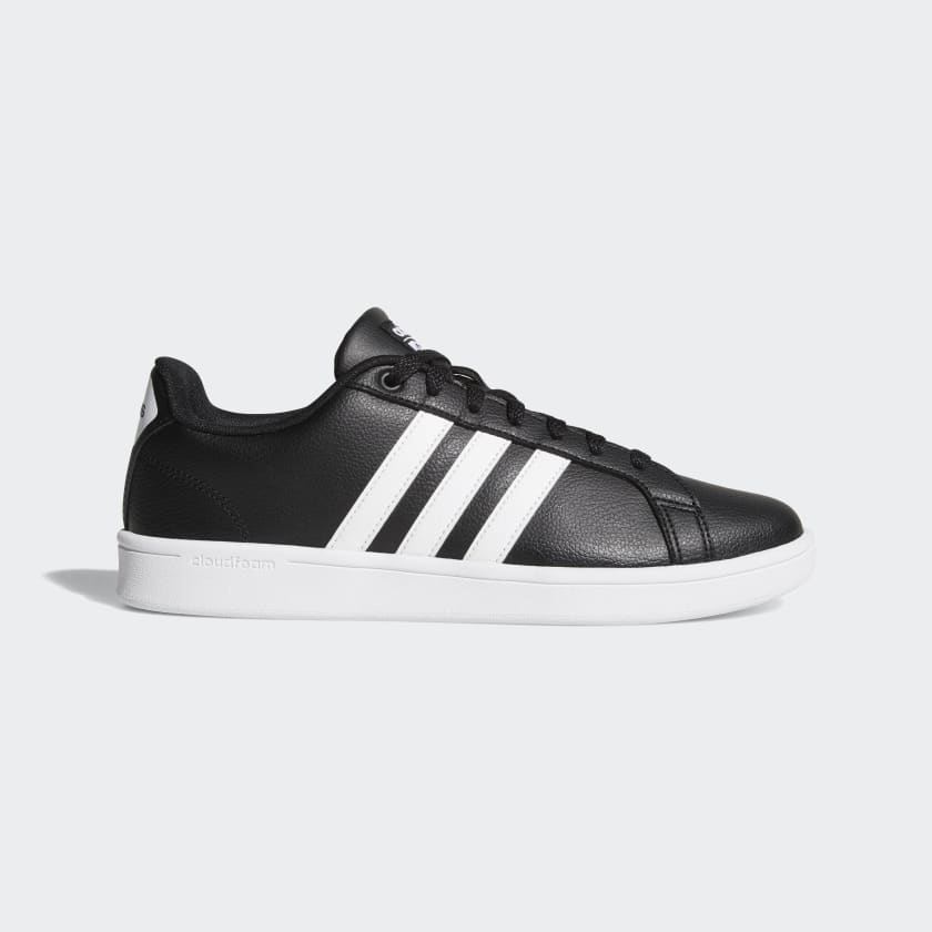 adidas Men's Cloudfoam Advantage Shoes (black)