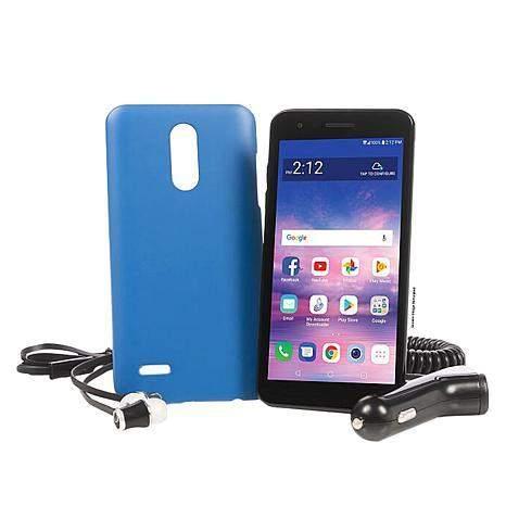 16GB LG Rebel 4 Smartphone w/ Tracfone 1500 Mins/Text/Data