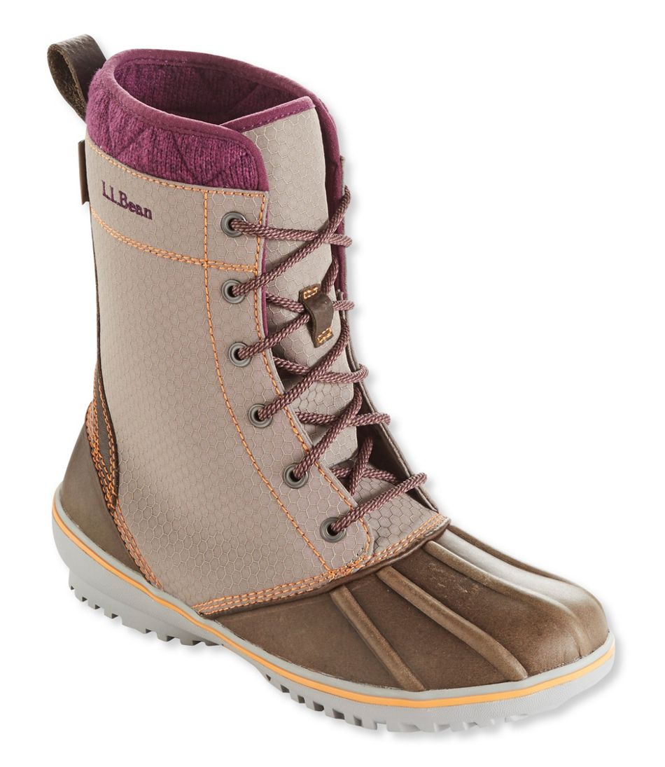 L.L. Bean Women's Bar Harbor Boots Nylon Mid (dark cement, sizes 6.5-8.5) $45 + Free Shipping on orders $50+