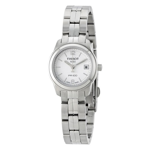 Tissot PR100 Ladies Watch on SS Bracelet $100 + free s/h
