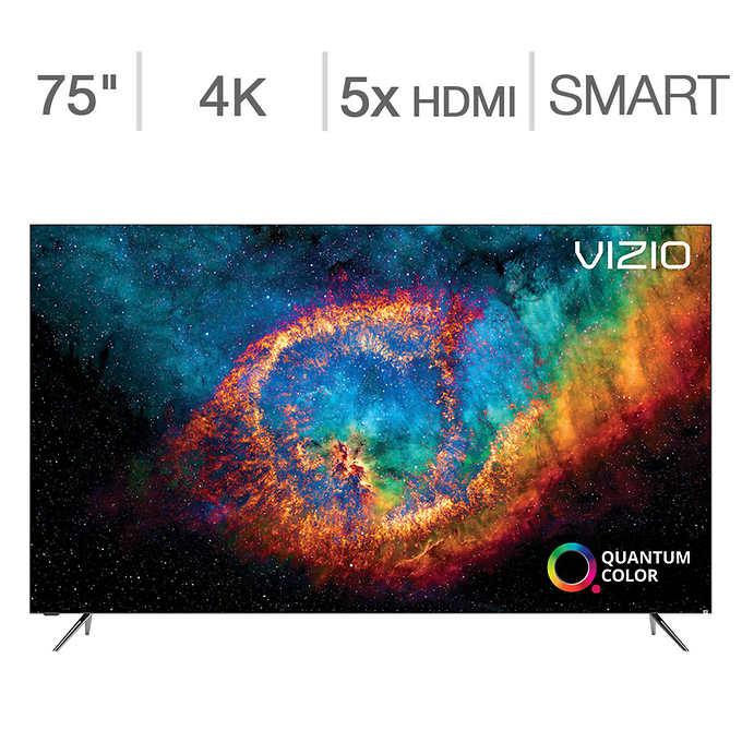 "Costco Members: 75"" VIZIO PX75-G1 Quantum X 4K UHD HDR Smart TV"