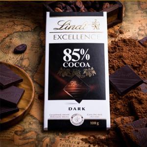 Lindt瑞士莲 85%特级排装黑巧克力 100g*20个装