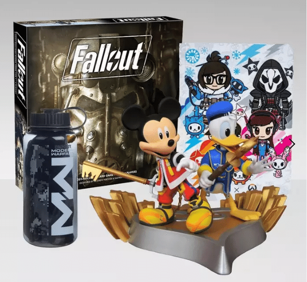 GameStop: Fallout, Overwatch, Kingdom Hearts & Call of Duty Collectibles