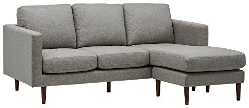 """亚马逊的选择!顶级销量现代风格灰色80""""转角沙发"""