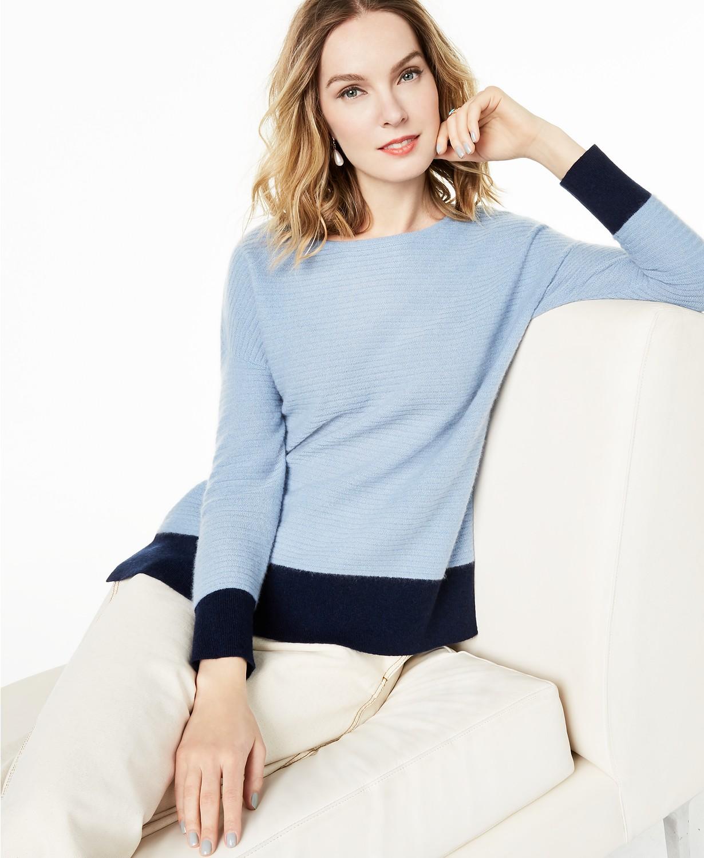 上班或约会都可以穿!气质优雅100% 羊绒衫4折闪购!