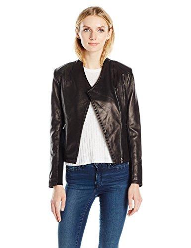 帅气有型 Calvin Klein 女式皮夹克