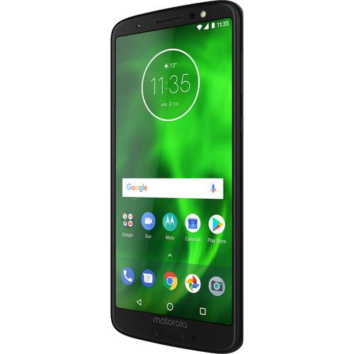 32GB Moto G6 Unlocked Smartphone + Mint Mobile 3-Month SIM Card Kit