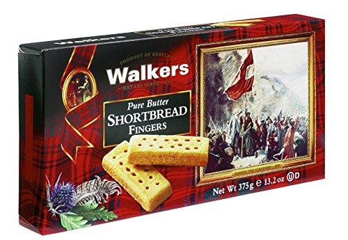 英女王也爱的黄油饼,Walkers 苏格兰黄油手指饼干