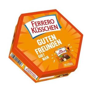 凑单品!Ferrero费列罗 浪漫爱之吻榛仁巧克力礼盒 20粒