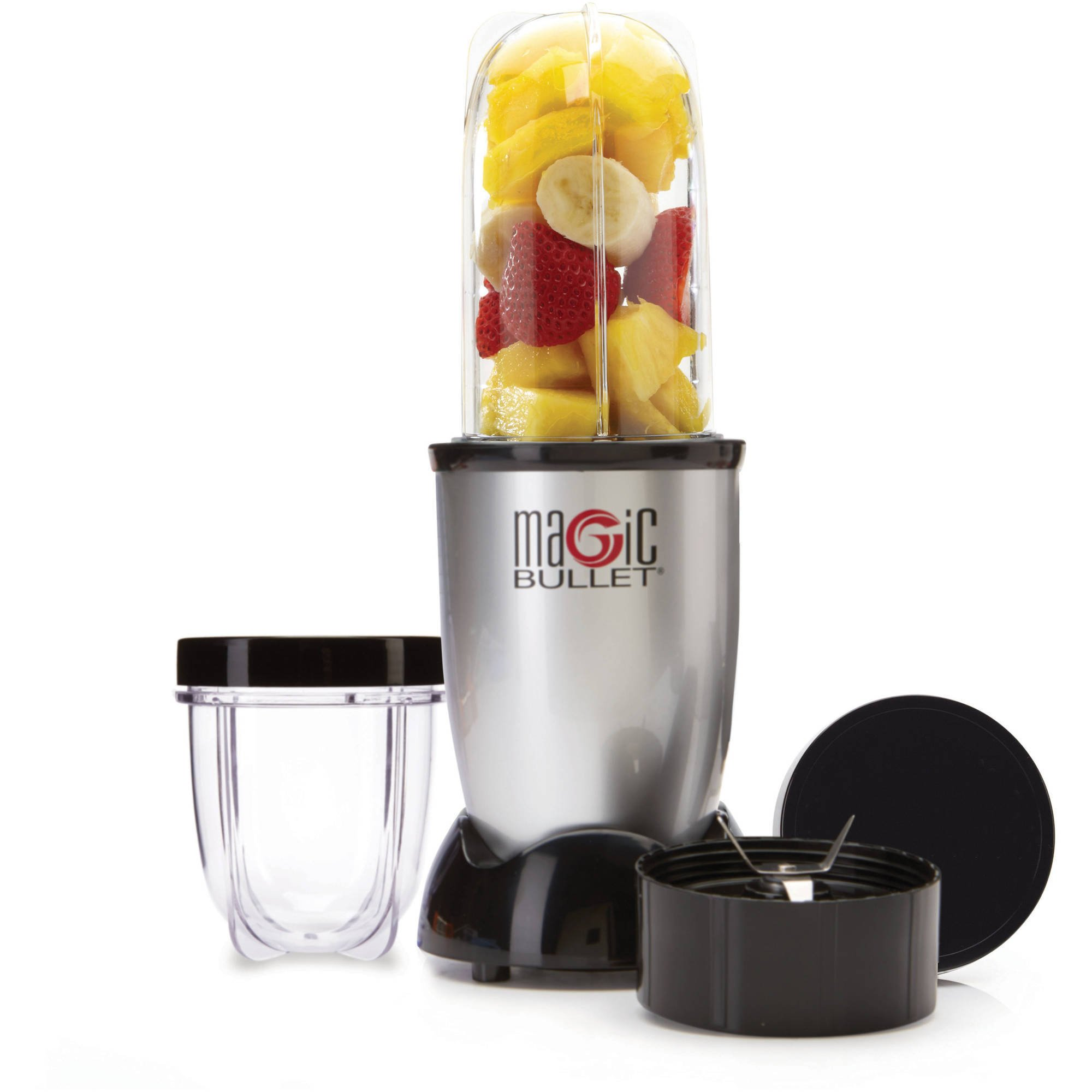 Magic Bullet 7-Piece Set (Silver)