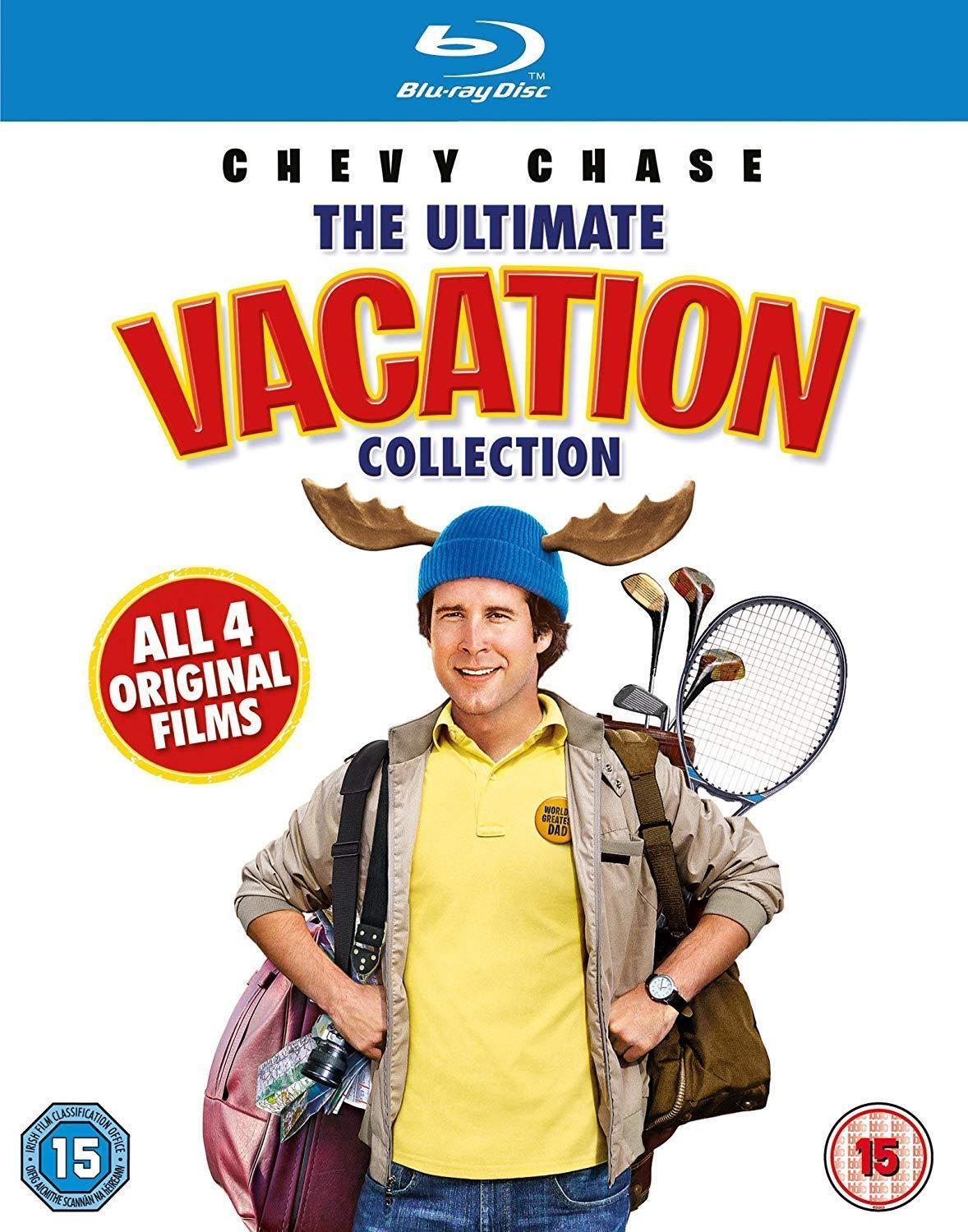 The Ultimate National Lampoon Vacation Collection (Region Free Blu-ray) $9.99 + Free Shipping w/ Prime