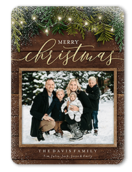 """ShutterFly 5"""" x 7"""" Personalized Christmas Cards"""