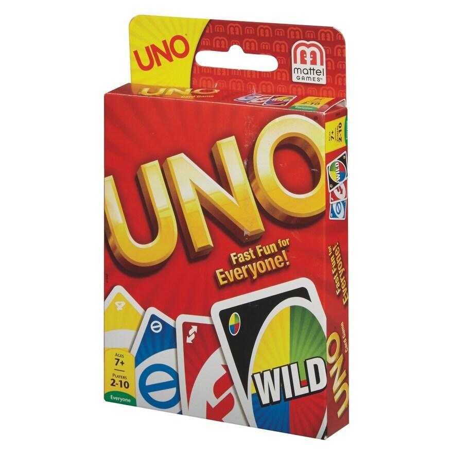 Card Games: Apples to Apples Party Box $7.50, Sushi Go! $4, Uno or Uno Dare