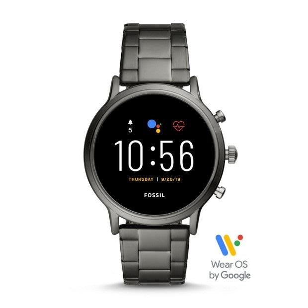 Fossil Carlyle or Julianna Stainless Steel Touchscreen Smartwatch (Gen 5)
