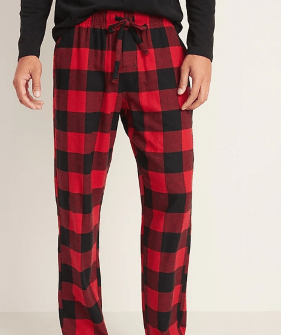 Old Navy Pajama Pants: Men's & Women's Patterned Flannel & More