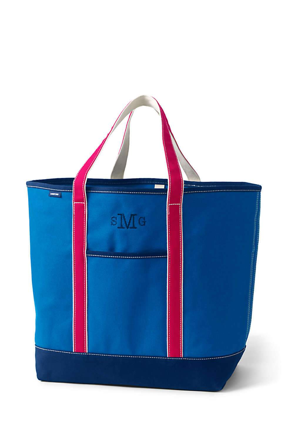 Lands' End Coupon: 50% Off Regular & Sale: Extra Large Open Top Canvas Tote Bag