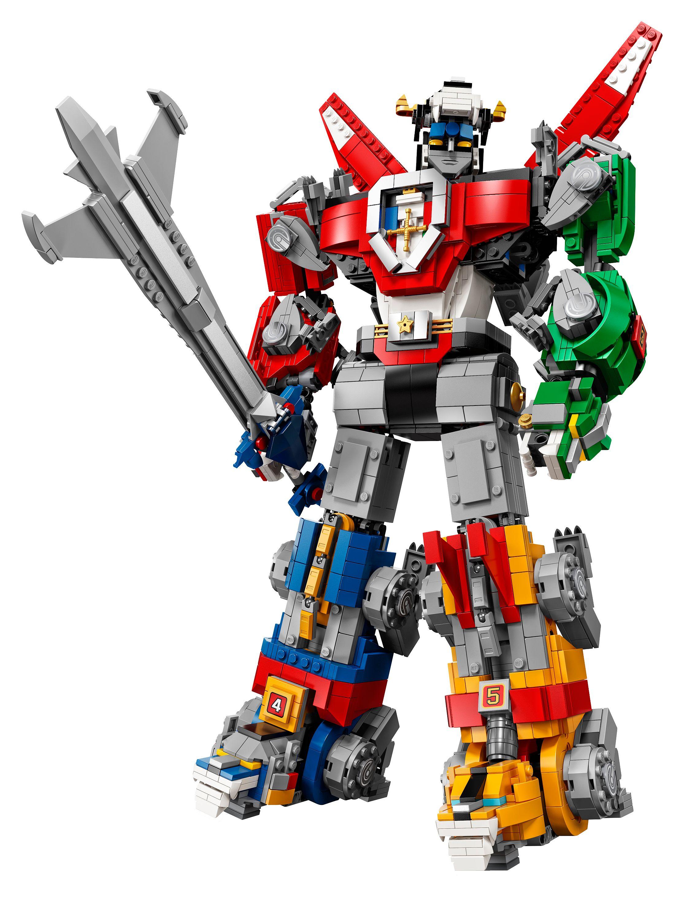LEGO Ideas Voltron Building Set