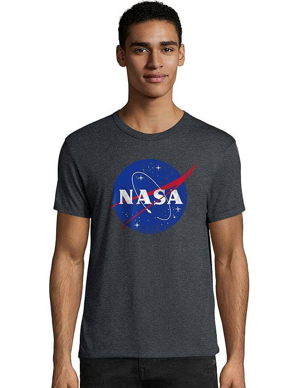 Hanes Men's NASA Meatball Graphic Tee