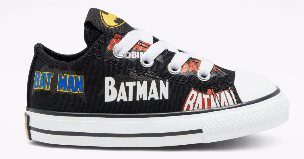 Converse x Batman Chuck Taylor All Star Shoes: Kids' $19.60, Infant/Toddler
