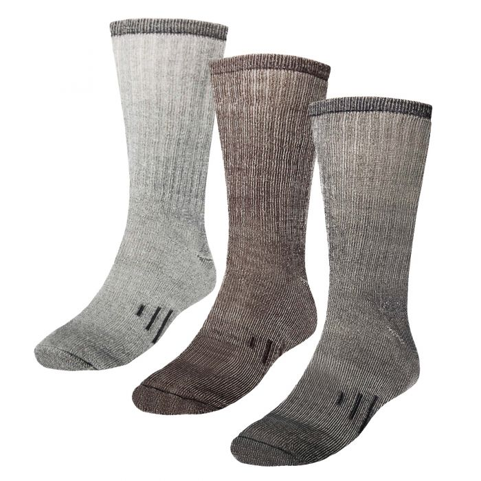 3-Pack Merino Men's & Women's Wool Socks