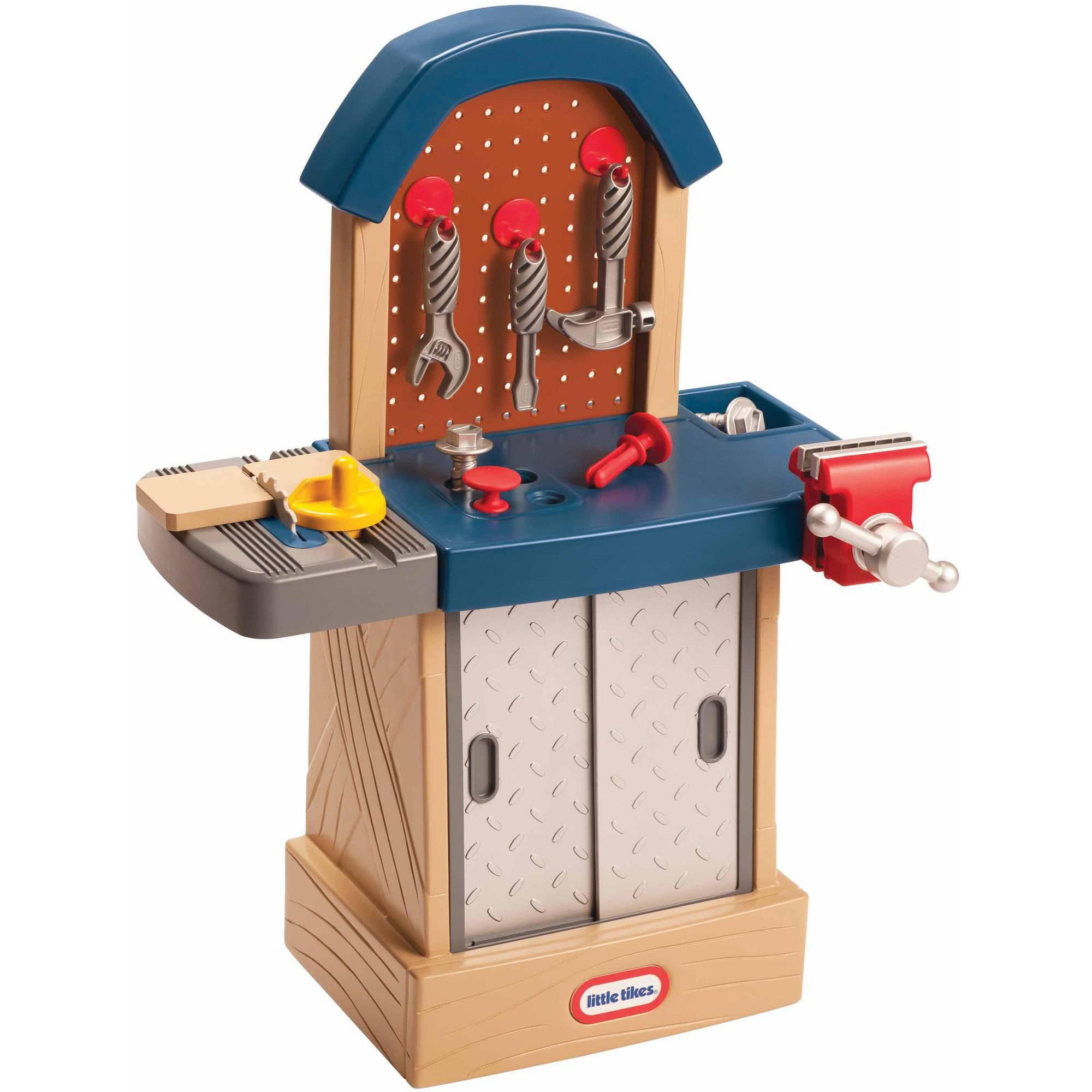 Little Tikes Tough Workshop Building Toys