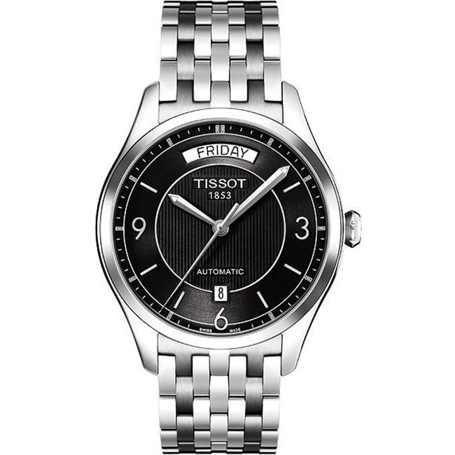 Tissot T-One Men's Automatic Watch (Black or White Dial)