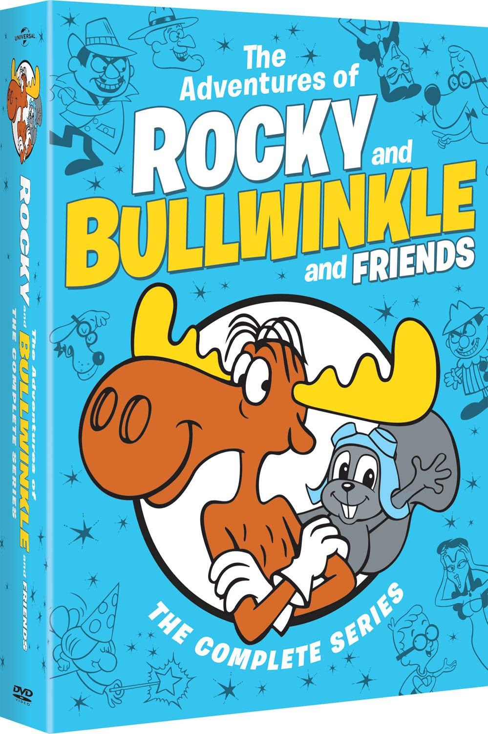 The Adventures of Rocky and Bullwinkle and Friends: The Complete Series (DVD)