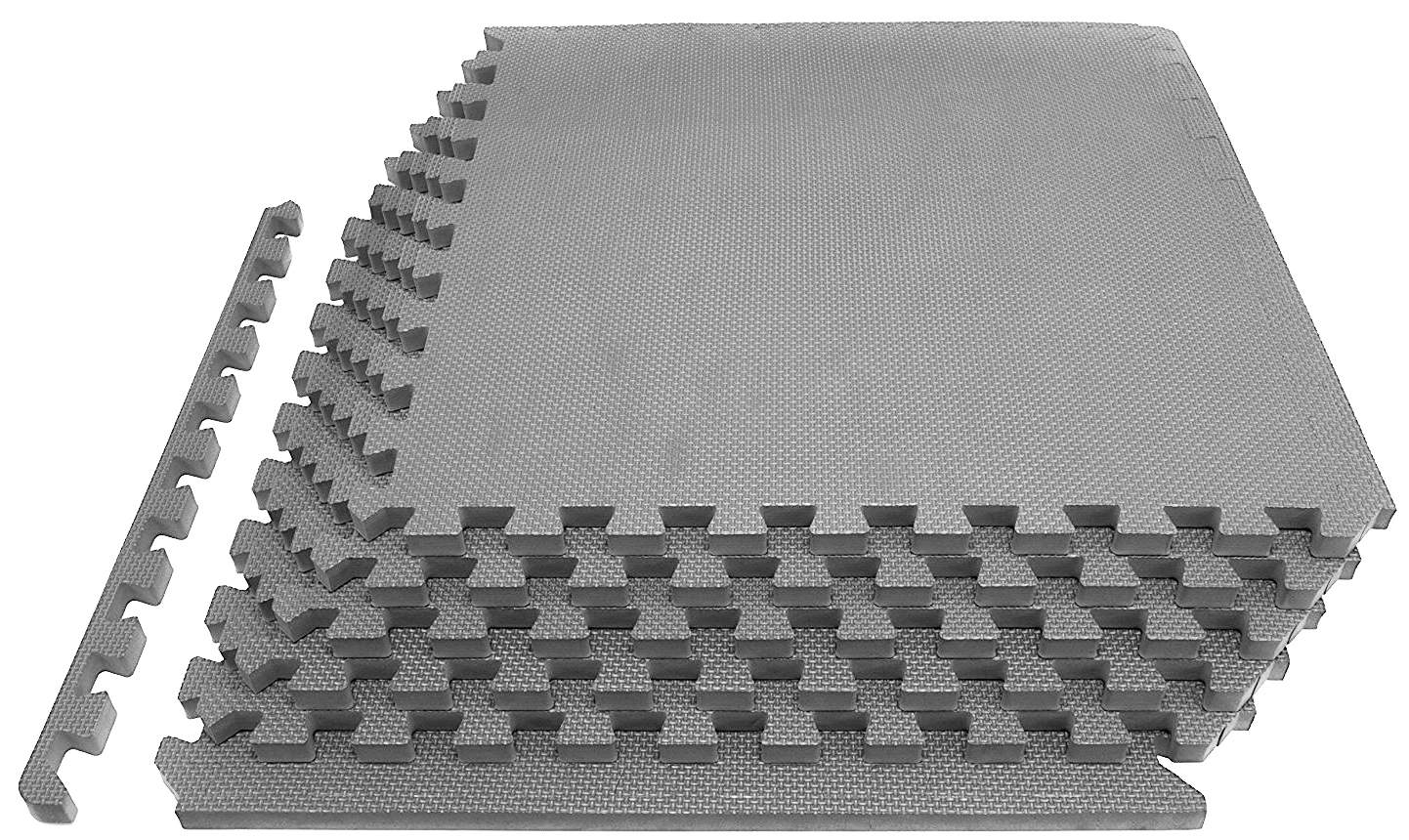 "6-Piece Everyday Essentials 1/2"" Thick Puzzle Exercise Floor Mat (24 Sq Ft)"