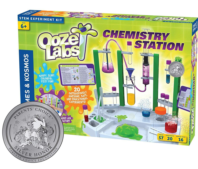 Thames & Kosmos Ooze Labs 57-Piece Children's Chemistry Set