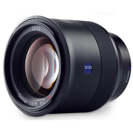 Zeiss 85mm f/1.8 Batis Series Lens for Sony E-mount Cameras