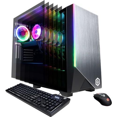 CyberPowerPC Gaming Master Desktop: Ryzen 7 3700x, 240GB SSD/2TB HDD, RX 5700