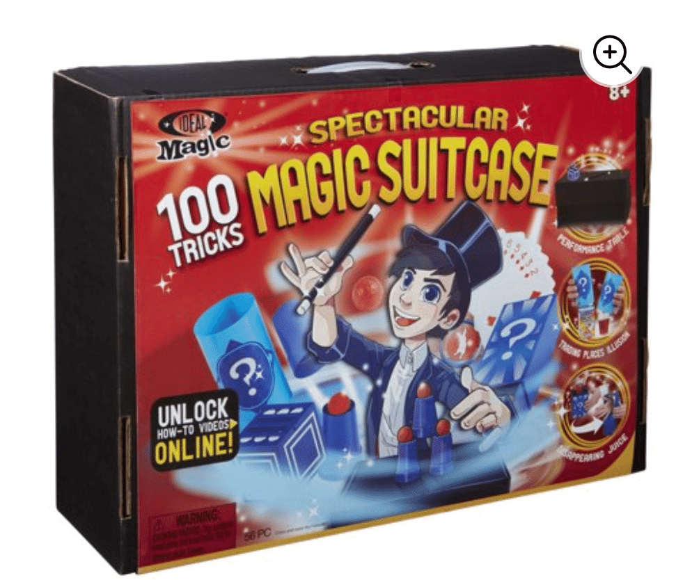 Ideal Magic Spectacular Magic Suitcase +100 Tricks