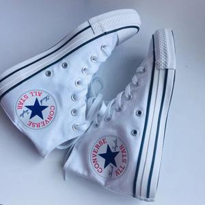 Converse匡威Chuck Taylor All Star男款经典白色帆布鞋