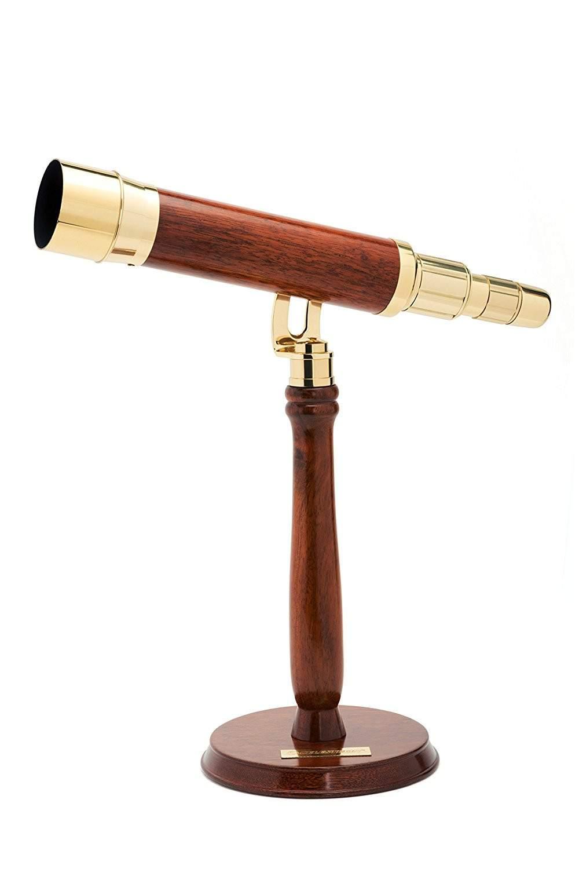 Celestron Ambassador 50 Brass Table Top Telescope $130 + free s/h