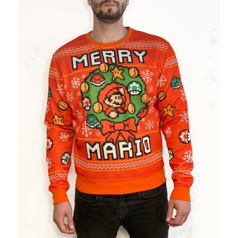 Holiday Sweaters: Super Mario Bros, Star Wars or PlayStation Holiday