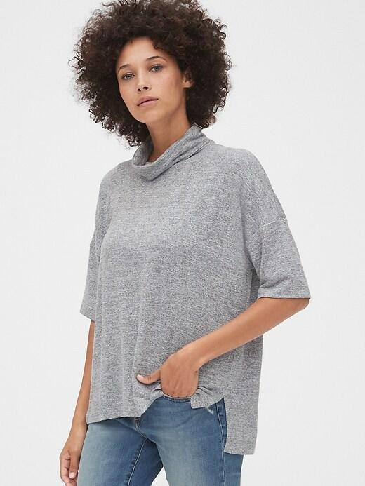 Gap Extra 50% Off + 10% Off Sale: Women's Softspun Turtleneck Top