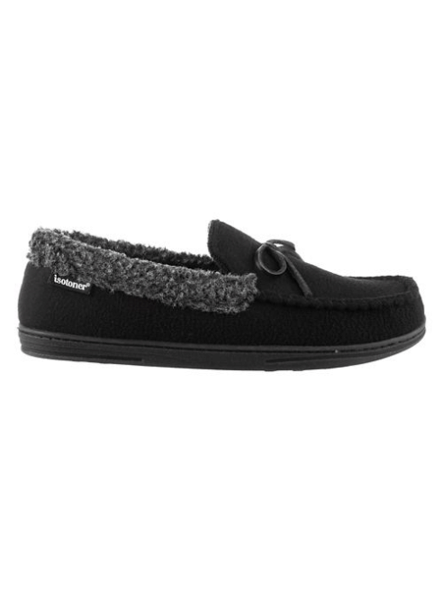 Isotoner Men's Gabriel Fleece-Lined Moccasins (XL or XXL only)