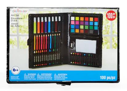 100-Piece Creatology Kids Art Set