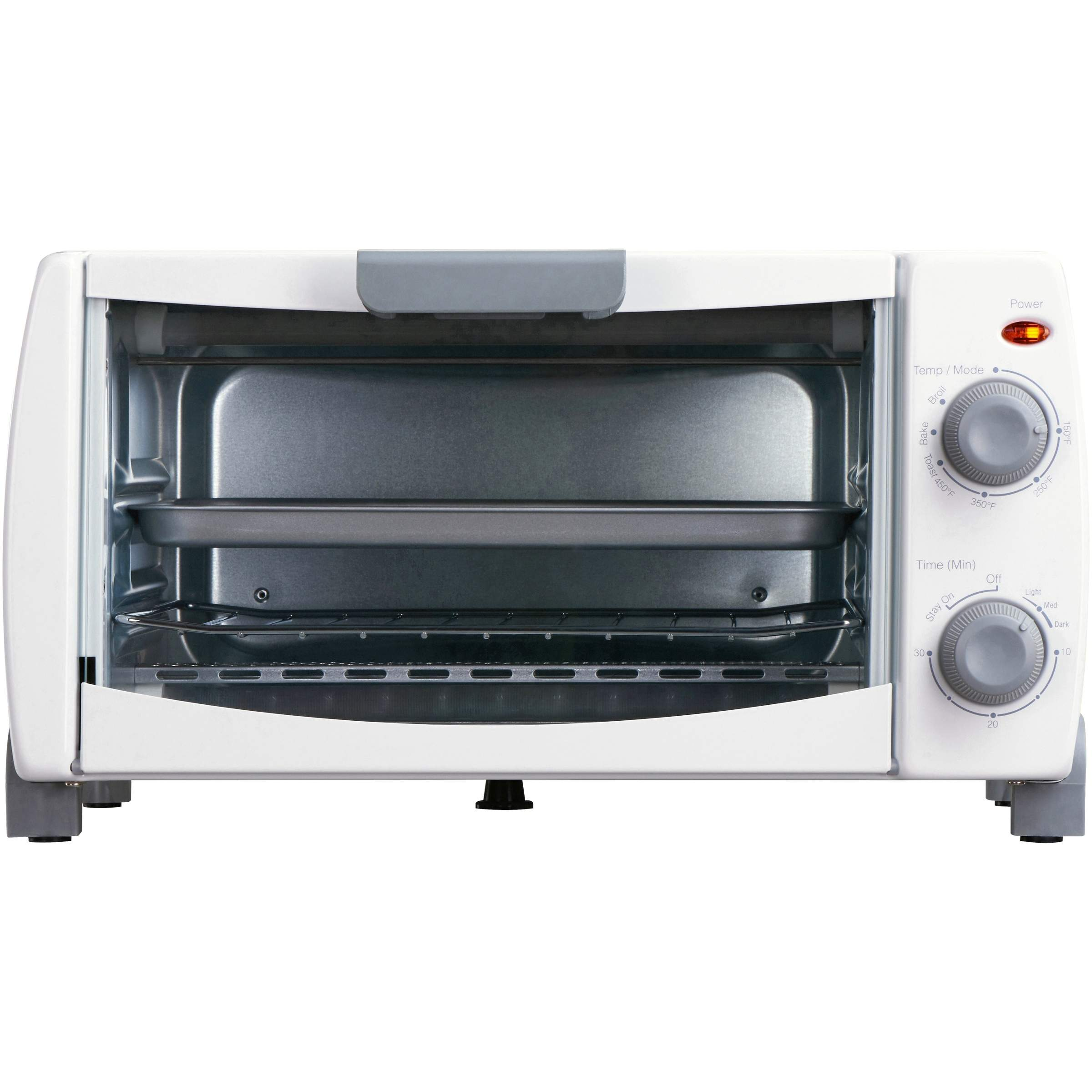 Mainstays 4-Slice Toaster Oven (White)